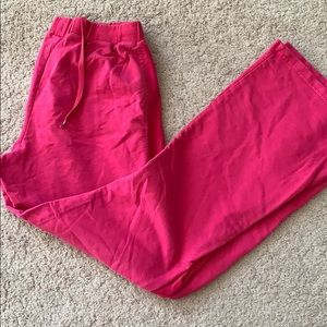 Hot Pink Puma Sweatpants